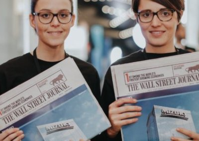 Wall Street Journal WEF Promotion