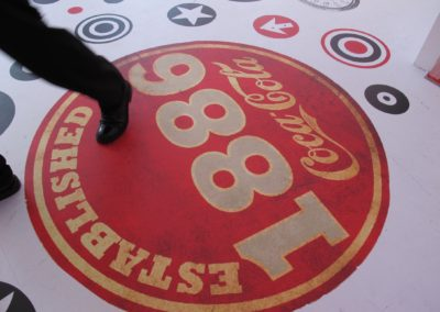 Pop Up Store 125 years Coca-Cola